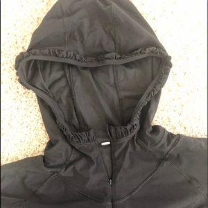 Lululemon L/S black 1/2 zip sun protection size 8
